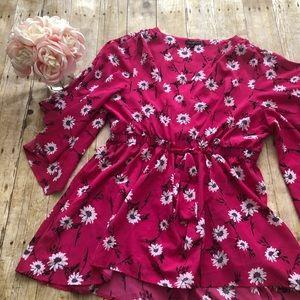 Lane Bryant Kimono Sleeve Tunic- Size 18/20